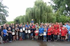 Teilnehmer der Hessenmeisterschaft 2016 in Schierstein